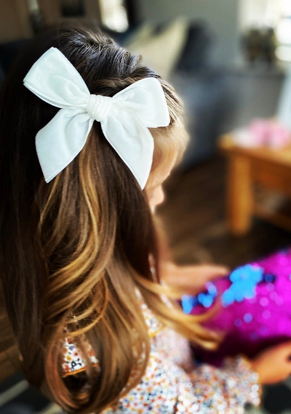 CONDOR Velvet Hair Bow - All Colours