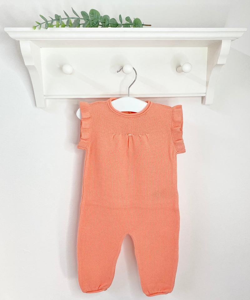 WEDOBLE Coral Frill Dungarees