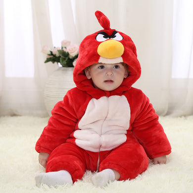 Angry Bird Winter Baby Rompers for boys/girls