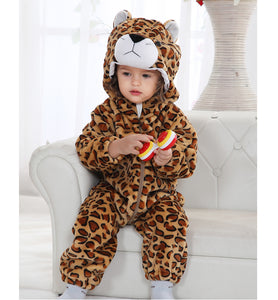 Jaguar Winter Baby Rompers for boys/girls