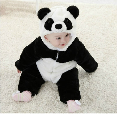 Panda Winter Baby Rompers for boys/girls
