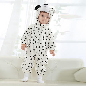White Tiger Winter Baby Rompers for boys girls