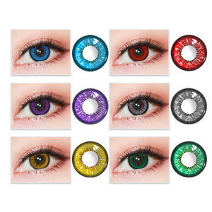 2Pcs Color Eye Contact Lenses