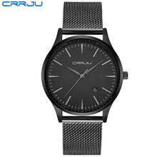 Full Stainless Steel Mesh Strap Business Watch 2018 (4 colours)