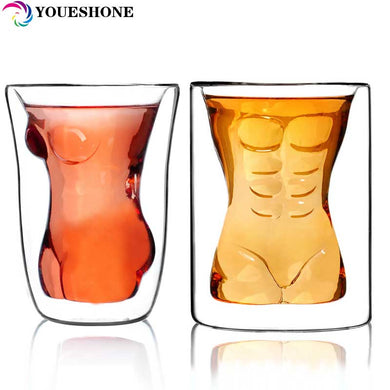 Sexy Lady Men Whiskey & Beer Drinking Glass Cup