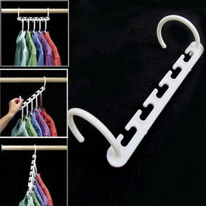 8 Pcs Space Saver Clothes Hanger