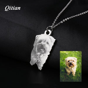 Pet Customized Photo Necklace