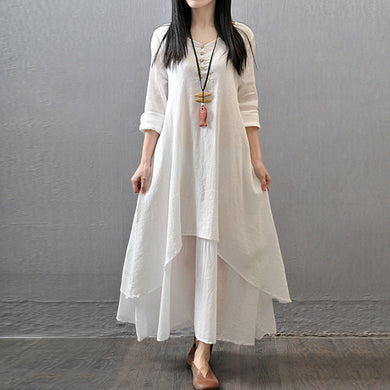 Casual Beach Robe Summer Dress 2019 New Fashion
