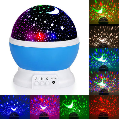 Star Projector Night Lamp