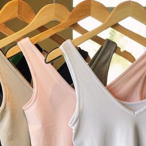 Scoop Neck / V-Neck Reversible Tank