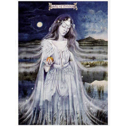 PAGAN WICCAN GREETING CARD Lady of Avalon WENDY ANDREW Birthday CELTIC GODDESS