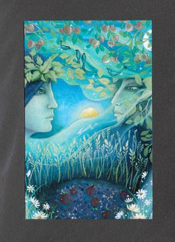 LAMMAS FESTIVAL GREETING CARD 1st August Celtic PAGAN AMANDA CLARK