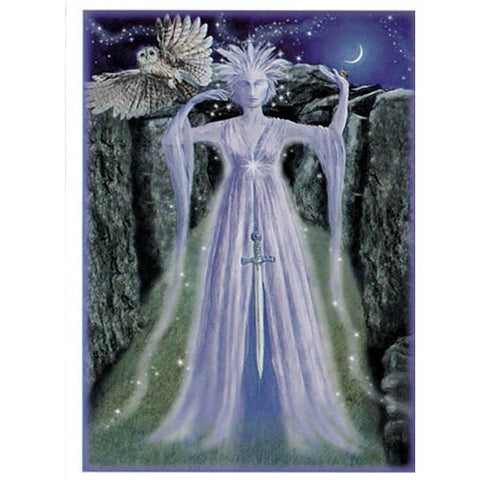 PAGAN WICCAN GREETING CARD Mother of Air WENDY ANDREW Birthday GODDESS