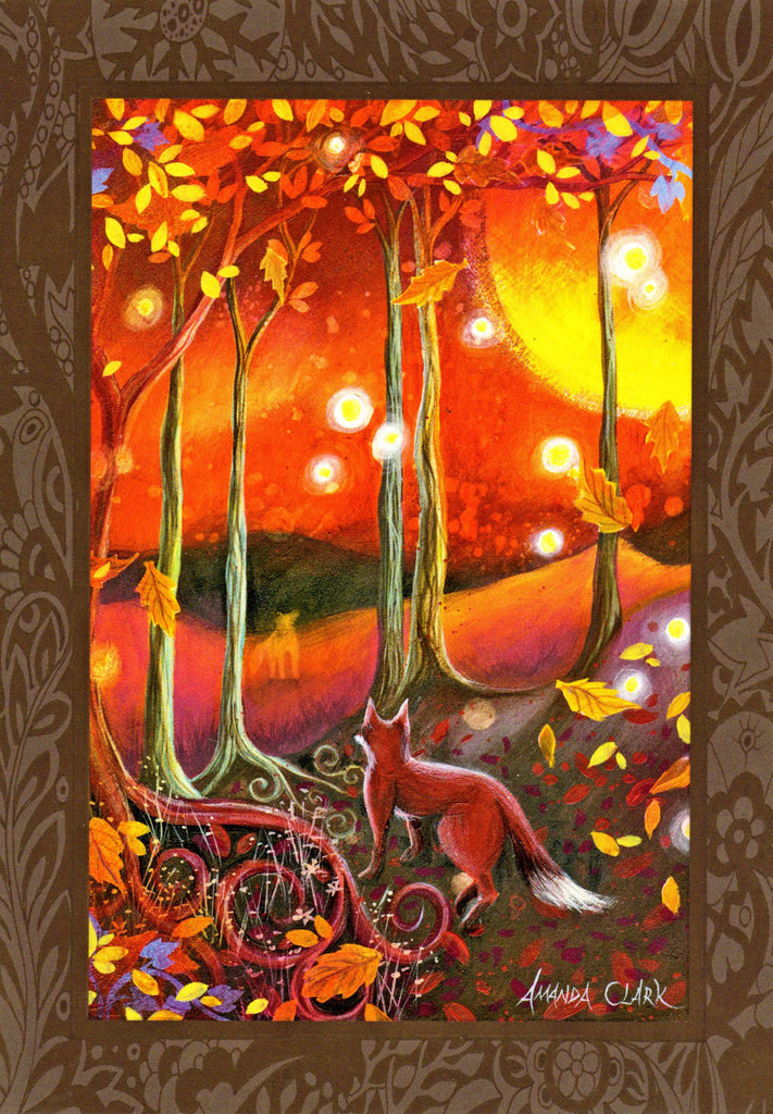 samhain halloween festival greeting card celtic pagan amanda clark