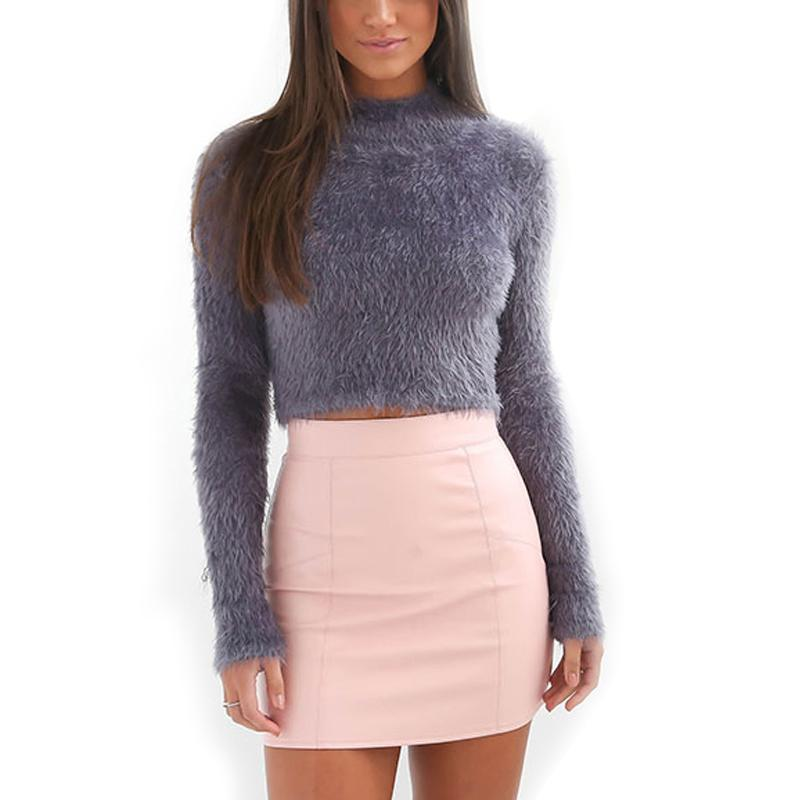 Mohair Turtleneck Long Sleeve