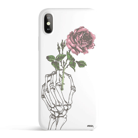 Crane Rose - Colored Candy Matte iPhone Case Cover