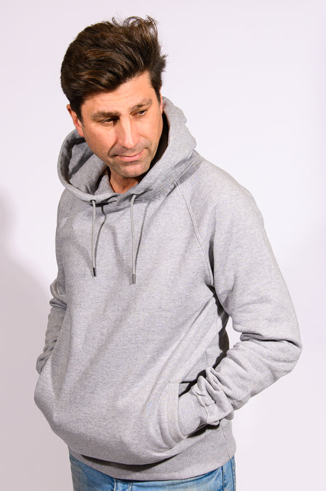 Loopback Hoodie Light Grey
