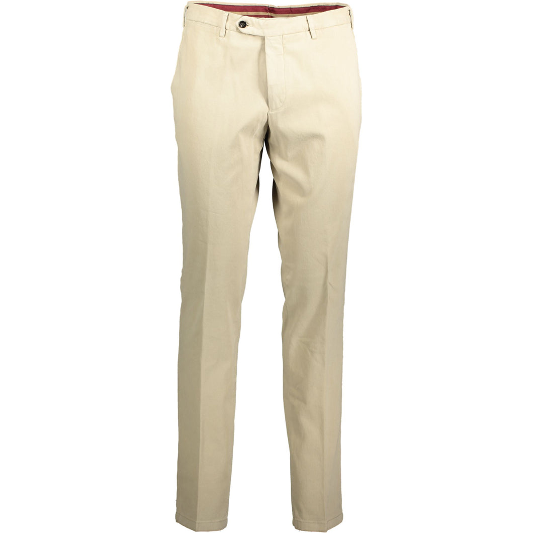 LIGHT BEIGE MOLESKIN TROUSERS