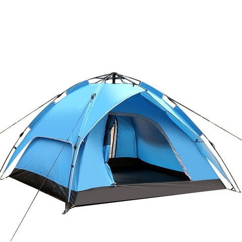 4 P Double Door Lightweight Waterproof Tent