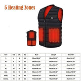 New 8 Heating Pads Thermal Vest