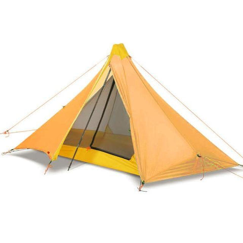 Ultra Light Camping Tent with Silicon Coating