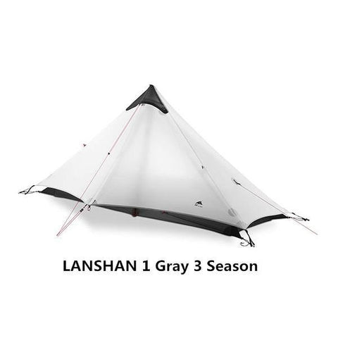 Ultra Light Nylon Rodless Tent with Silicon Coating