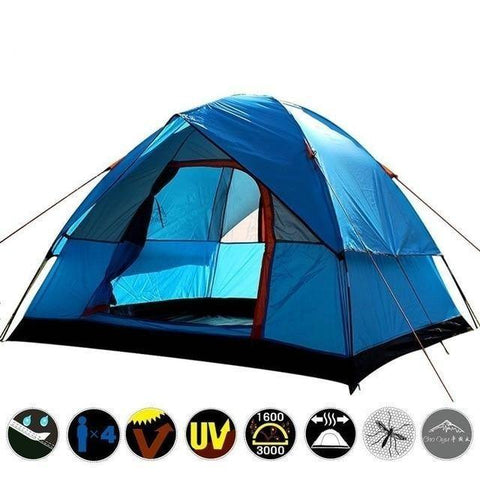 Dual Layer Tent for 3-4 Person