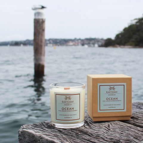 Ocean Wood Wick Candle