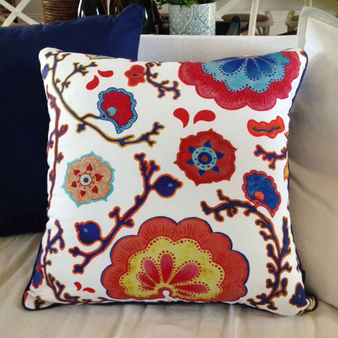 Coral Cushion by Edmund Scott Home