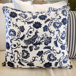 Peacock Nautical Cushion By Edmund Scott Home