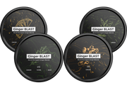 Ultimate Ginger Blast Pack - Combo of Ginger - Lemon - Matcha -Sage/Thym - 4 x 45gr