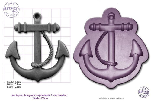 Anchor; Large Mould Silicone Mold