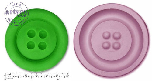 Button Jumbo; Plain Silicone Mold