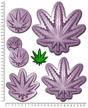 CANNABIS / HEMP / MARIJUANA Multi Sizes