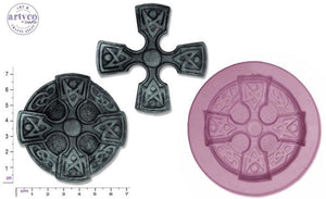 Celtic Cross Silicone Mold