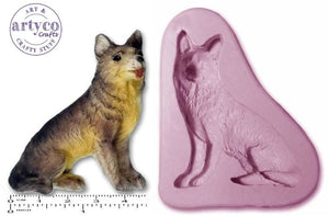 Dog; Alsation / German Shepherd Silicone Mold