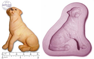 Dog; Labrador Retriever Silicone Mold
