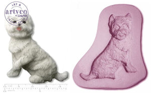 Dog; Westie Silicone Mold
