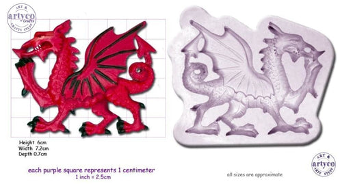 Dragon Medium Silicone Mold