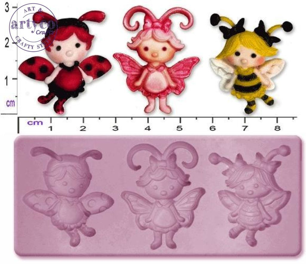 Fairy / Flutterbugs Small Silicone Mold
