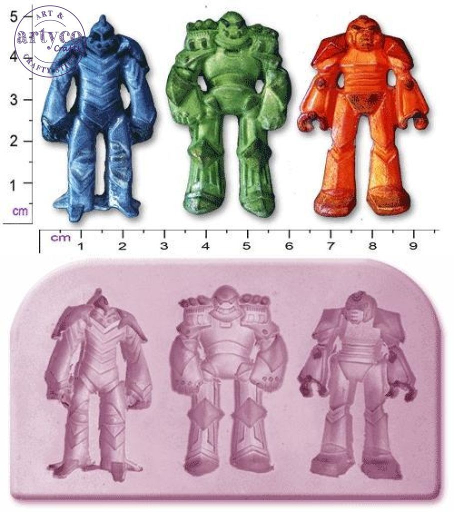 Transformers: Small Silicone Mold