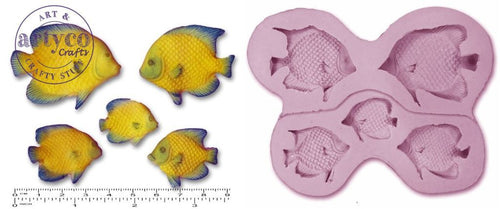 Tropical Fish Silicone Mold