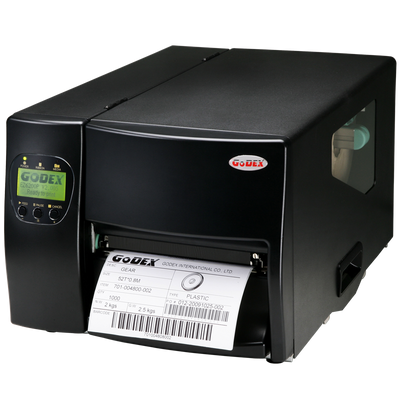 "discountlabels,GODEX EZ6300Plus - HEAVY DUTY INDUSTRIAL BARCODE PRINTER - 011-63P007-180 - 6"" -  300 DPI - INCLUDING: 10/100 ETHERNET, USB, LOGICIEL WINDOWS"