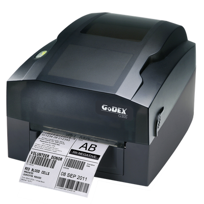 "discountlabels,GODEX G300 - THERMAL TRANSFER PRINTER - 011-G30E01-000 - 4"" - 203 DPI - INCLUDING: 10/100 ETHERNET, USB AND WINDOWS SOFTWARE"