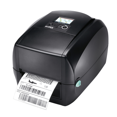 "discountlabels,GODEX RT730i - THERMAL TRANSFER PRINTER - 011-73iF01-000 - 4"" - 300 DPI - USB(H/D), RS232, ETHERNET, BT COMPATIBLE - INCLUDING: INCLUANT: 10/100 ETHERNET, USB AND WINDOWS SOFTWARE"