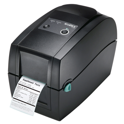 "discountlabels,GODEX RT200 - THERMAL TRANSFER PRINTER - 011-R20E01-000 - 2"" - 203 DPI - INCLUDING: 10/100 ETHERNET, USB AND WINDOWS SOFTWARE"