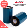 discountlabels,GODEX RT200 BLACK RESIN RIBBON 2.24″ X 360′ ZEBRA (57MM X 110M) - FOR RT200
