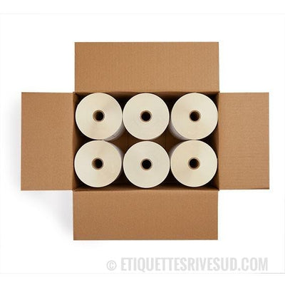 "discountlabels,ZEBRA 3"" X 1"" Z-SELECT 4000D - 10010043C - CASE OF 6 - 2,340 LABELS/ROLL"