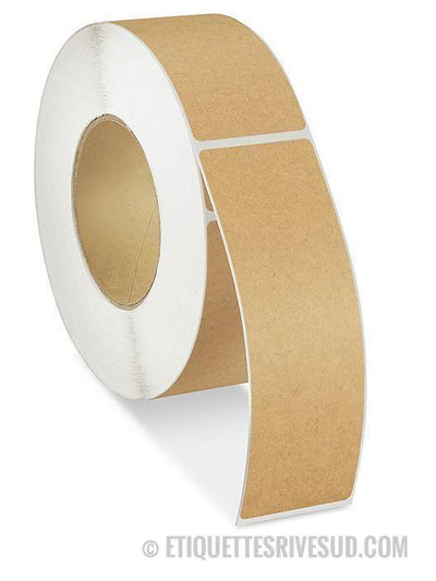 "discountlabels,BlockOut Labels – 2 x 6 - Core 3"" - 500 Labels/Roll"