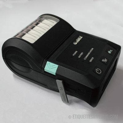 discountlabels,MX20 - Mobile Printer Direct Thermal 2'' - USB et RS232